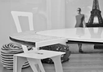 SATURNO il tavolo estendibile